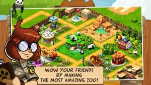 Wonder Zoo MOD APK Ver 2.1 – Animal Rescue [Unlimited Gold, Money & Gems] 2