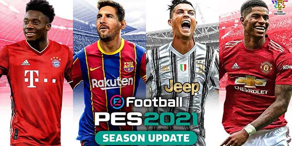 efootball pes mod 2021 update