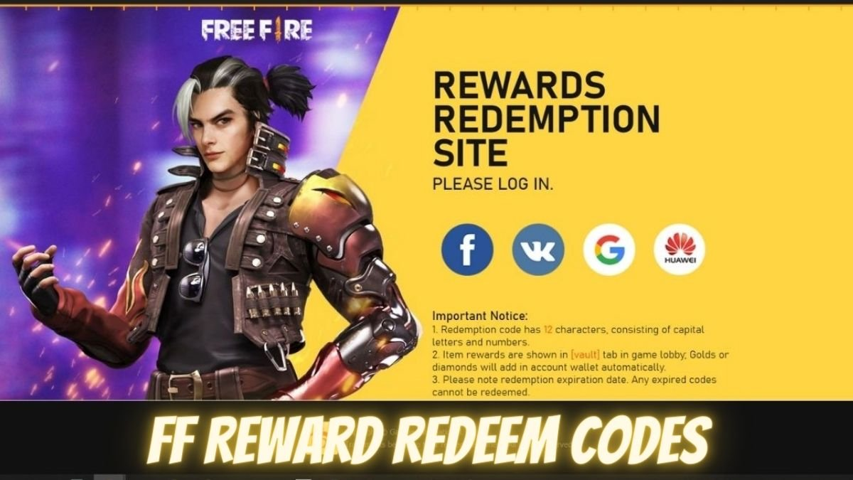 Free Fire Redemption code